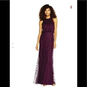 ADRIANNA PAPELL | NWT ART DECO CASSIS DRESS | 8